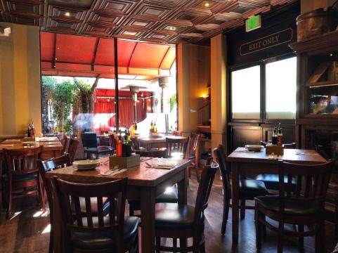Dining room of Maccheroni Republic.